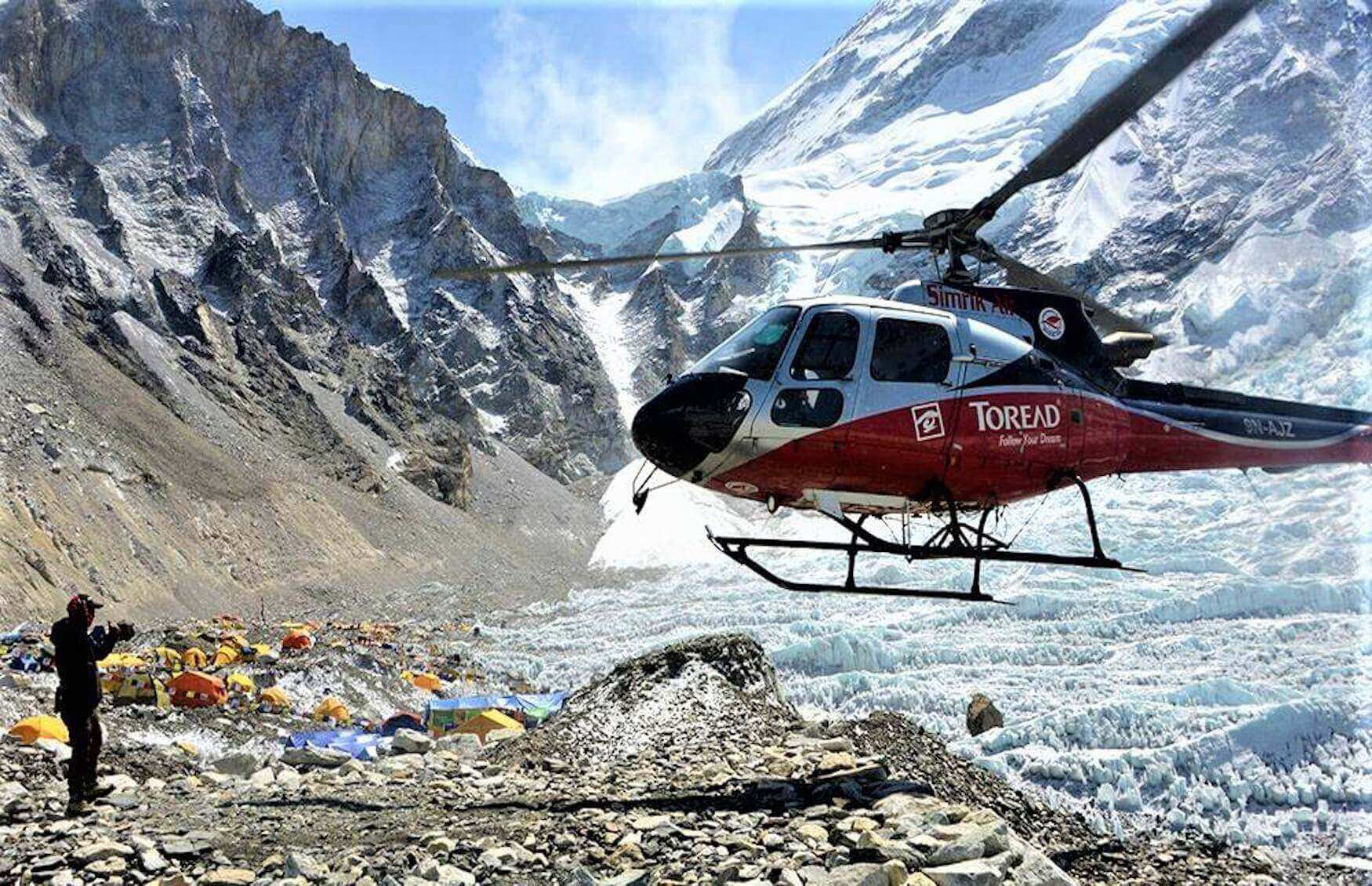everest base camp and fly back helicopter, everest base camp helicopter tour, EBC Helicopter tour, EBC Heli tour