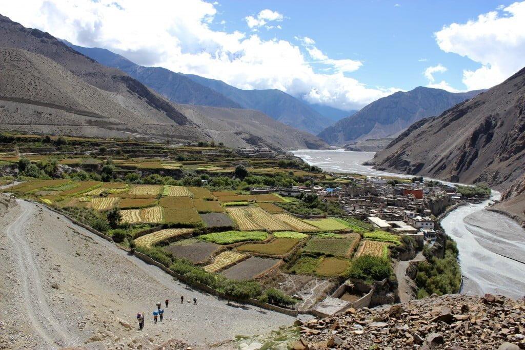 muktinath and kagbeni valley trek