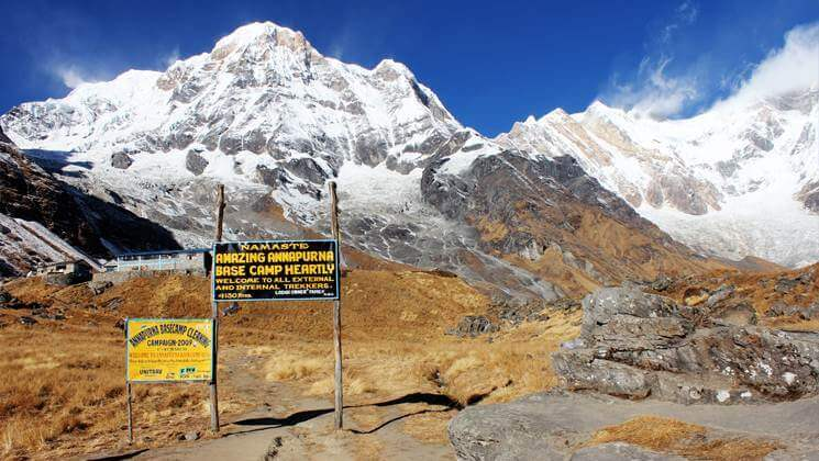annapurna sanctuary trek, annapurna base camp trek