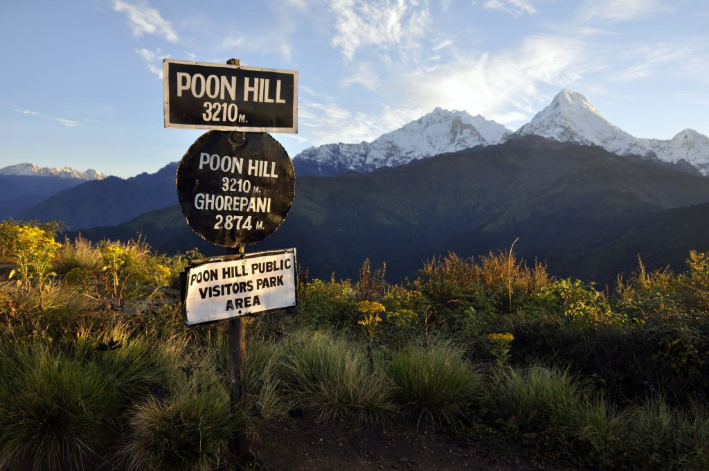poonhill sunrise and everest view trek, poonhill trek, annapurna panorama and river