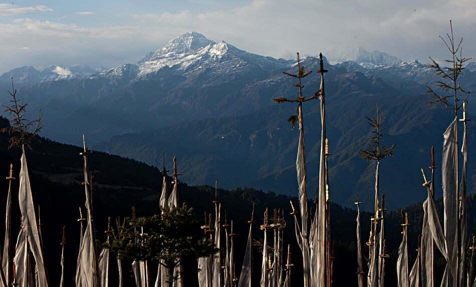 chelela pass bhutan alpine club of himalaya
