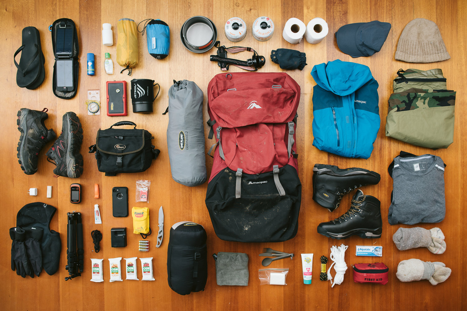 Equipments and Packing List Treeking everest